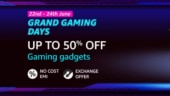 Amazon Grand Gaming Days sale: Top deals on gaming accessories, monitors, Acer Nitro and HP Pavilion laptops