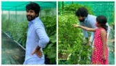 Sivakarthikeyan gives a glimpse of his home garden. Don't miss pic with daughter Aaradhana