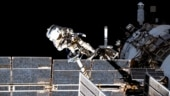 Astronauts prep to conduct two spacewalks to install solar arrays on International Space Station