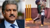 Anand Mahindra shares viral video of little girl playing cricket. Read tweet