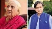 Carnatic musician Parassala B Ponnammal dies at 96. Shashi Tharoor offers condolences