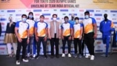 Tokyo Games: India's official kit for Olympics unveiled with 50 days remaining