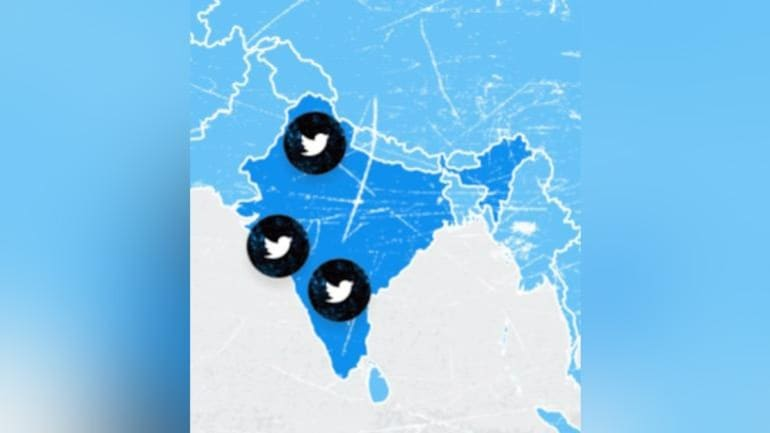 Twitter shows Jammu-Kashmir and Ladakh outside India on its site - India News