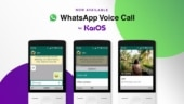 WhatsApp voice call arrives on JioPhone, other KaiOS-based feature phones