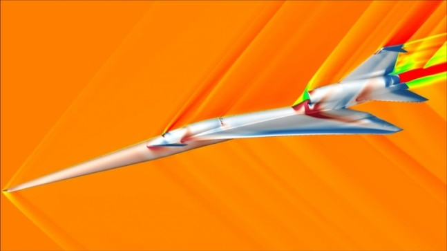 Going supersonic without the boom: How noiseless plane could fly faster than speed of sound