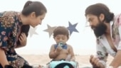 Yash's son Yatharv can't stop giggling as mom Radhika Pandit trims his nails. Watch