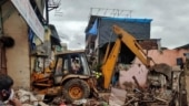 Two-storeyed shopping complex of SP leader razed in UP's Etah