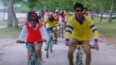 Kajol shares fun Kuch Kuch Hota Hai clip with Shah Rukh Khan on World Bicycle Day