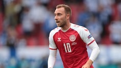 Christian Eriksen stable at hospital, Denmark's Euro 2020 match vs Finland resumes (Reuters Photo)