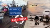 Fact Check: S**t happens, but this airport signboard is morphed