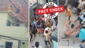 Fact Check: Video of group clash shared as retaliation against Loni case accused