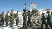Harsh weather conditions force China to rotate 90% troops deployed against India