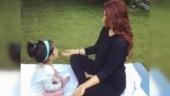 Twinkle Khanna shares cute pic with Nitara, reveals importance of pranayama on Yoga Day