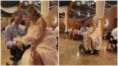 This viral video of a girl and her wheelchair-bound dad from her wedding day is pure love
