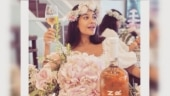 Lisa Haydon's baby shower on 35th birthday is about all friends and no wine. See pics