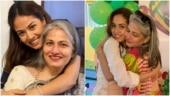 Mira Rajput posts adorable pic on mom's birthday. Ishaan Khatter calls her super Nani