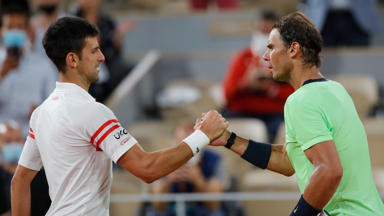 Novak Djokovic defeated Rafael Nadal in an all-time classic at Roland Garros on Friday (Reuter Photo)