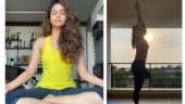 Keerthy Suresh recommends yoga in the day to keep tension away. See post