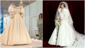 Princess Diana's iconic wedding dress goes on display for the first time in 25 years