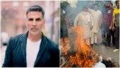 Protest against Akshay Kumar's Prithviraj in Chandigarh, actor's effigy burnt
