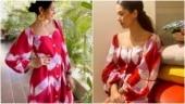 Rakul Preet Singh or Mira Rajput, who wore this chic tie-dye dress better?
