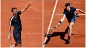 Daniil Medvedev records his 1st win in 5th attempt at French Open, Jannik Sinner survives in a 5-setter