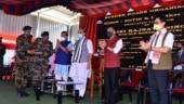 Rajnath Singh inaugurates 12 strategic roads to boost border infrastructure