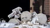 Spacesuit problems prevent astronauts from installing solar arrays