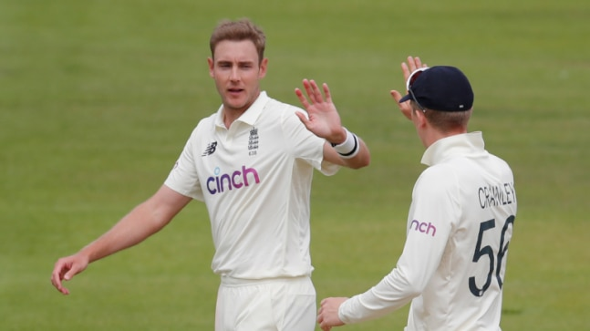 England vs New Zealand: Stuart Broad ends 81-over drought, picks up first Test wicket since January 2020