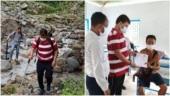 In North Bengal, Alipurduar DM treks to vaccinate people on Indo-Bhutan border. See videos