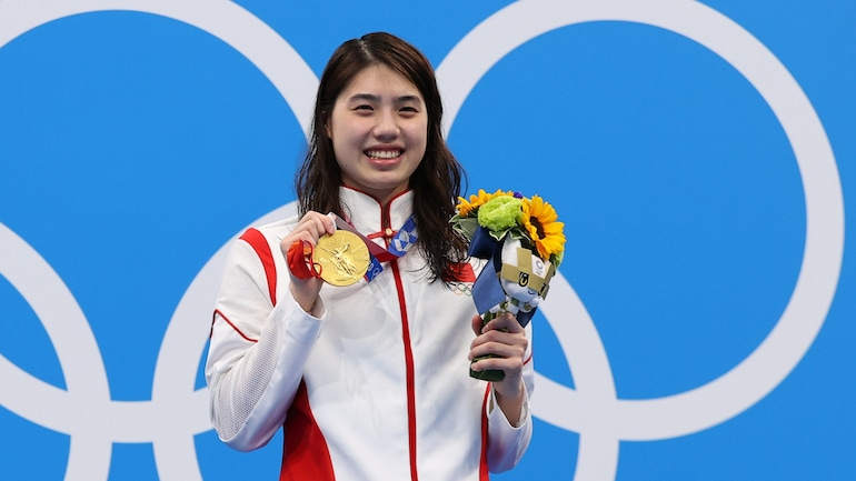 Tokyo Games: China's 'butterfly queen' Zhang Yufei wins 200m gold in Olympic record time - Sports News