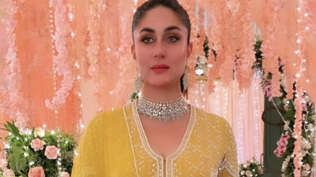Kareena Kapoor is regal in Rs 1.5 lakh embellished anarkali suit. Gorgeous pics and videos