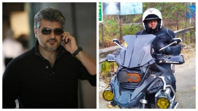Thala Ajith's unseen pics from his bike trip go viral. Trending now