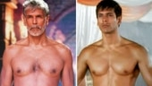 Milind Soman flaunts fit physique in then and now pics. Instagram is floored