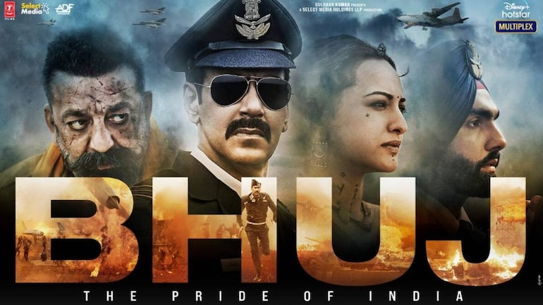 Bhuj The Pride of India trailer out.  Ajay Devgn and Sanjay Dutt film is high on patriotism - Movies News