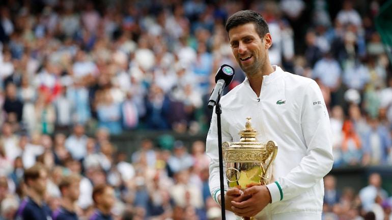 Wimbledon: Novak Djokovic pays tribute to Roger Federer, Rafael Nadal after  winning 20th Grand Slam crown - Sports News