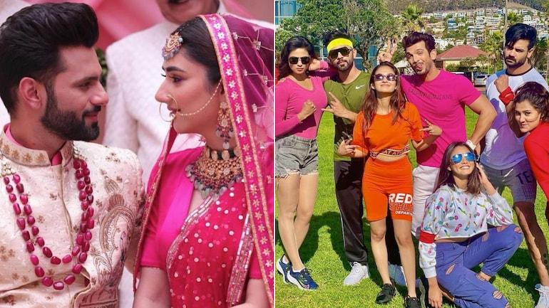 Rahul Vaidya and Disha Parmar's wedding may include guests from Khatron Ke Khiladi 11.