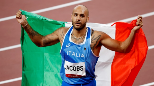 Athletics: Italy's Marcell Jacobs wins men's 100m gold at Tokyo Olympics