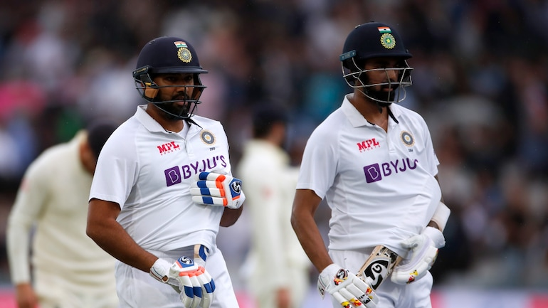 Rohit Sharma and KL Rahul managed to emulate a 69-year-old record for India. (Reuters Photo)