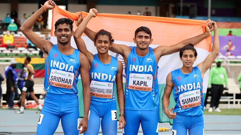 Indian mixed 4X400m relay team wins bronze in U-20 World Athletics  Championships - Sports News