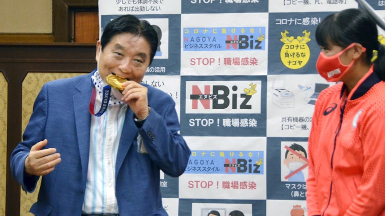 The mayor was also accused of disrespecting Goto's achievement.
