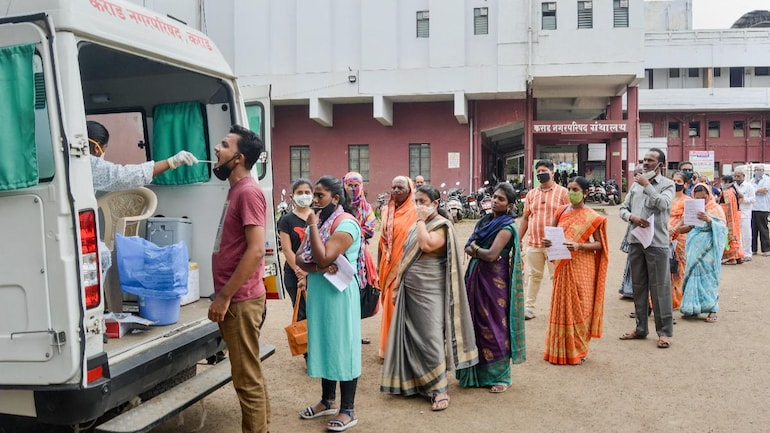 India records over 46,700 new Covid-19 cases, highest single-day rise in  nearly 2 months - Coronavirus Outbreak News