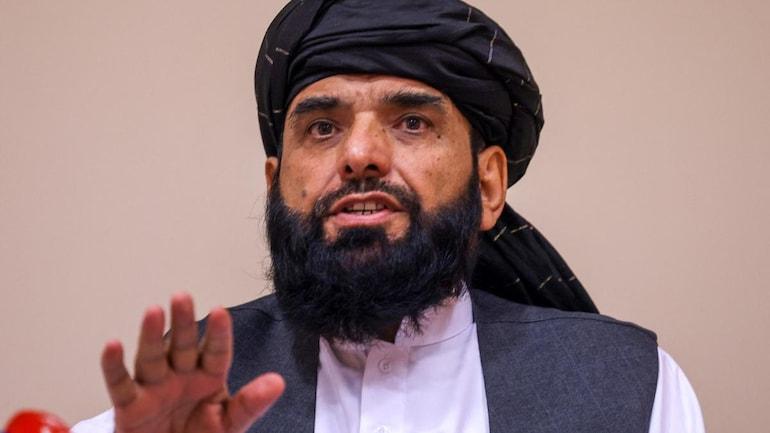 File photo of Taliban spokesperson Suhail Shaheen