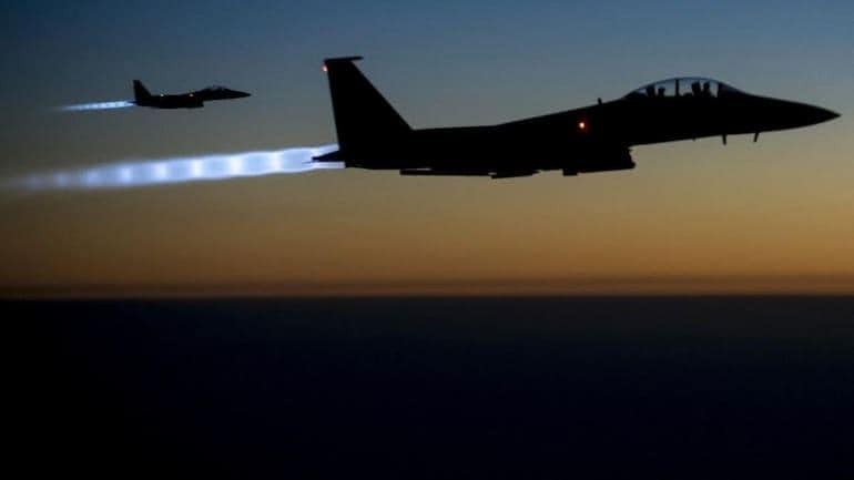 Israeli aircraft strike rocket launch sites in Lebanon, says military