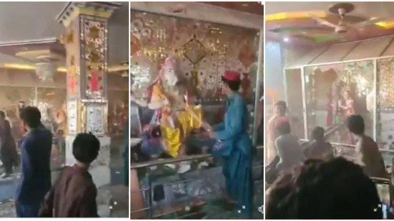 Temple attacked by mob in Pakistan returned to Hindus after repairs