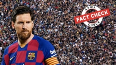 Fact Check: Unrelated images, videos passed off as PSG fans waiting to greet Lionel Messi