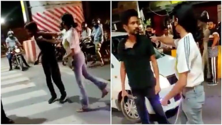 FIR against Lucknow woman seen thrashing cab driver at traffic signal in viral video - India News