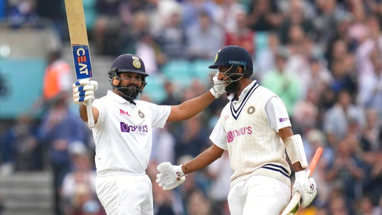 Oval Test: Rohit Sharma suffers knee injury, Cheteshwar Pujara has pain in  left ankle - Sports News