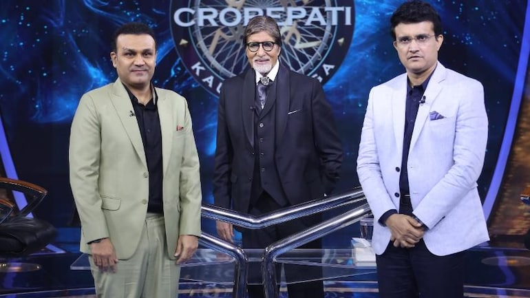 Sourav Ganguly, Virendra Sehwag answered this question to win Rs 25 lakh on  KBC 13. Can you? - Television News
