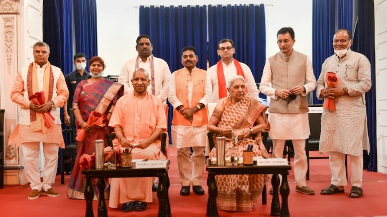 UP cabinet expansion today; Sangeeta Bind, Jitin Prasada likely to take  oath as ministers - India News